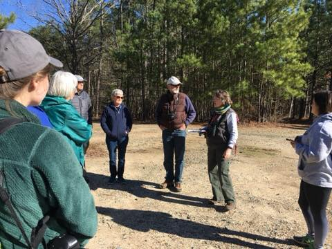 discussing the controlled burns and restoration program