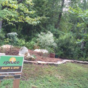 Black Creek Greenway demonstration garden