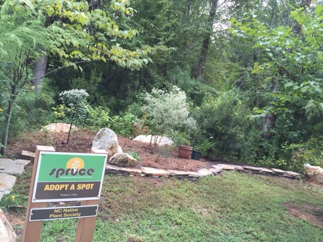 Black Creek Greenway demonstration garden